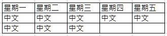 一星期五天8堂中文.JPG