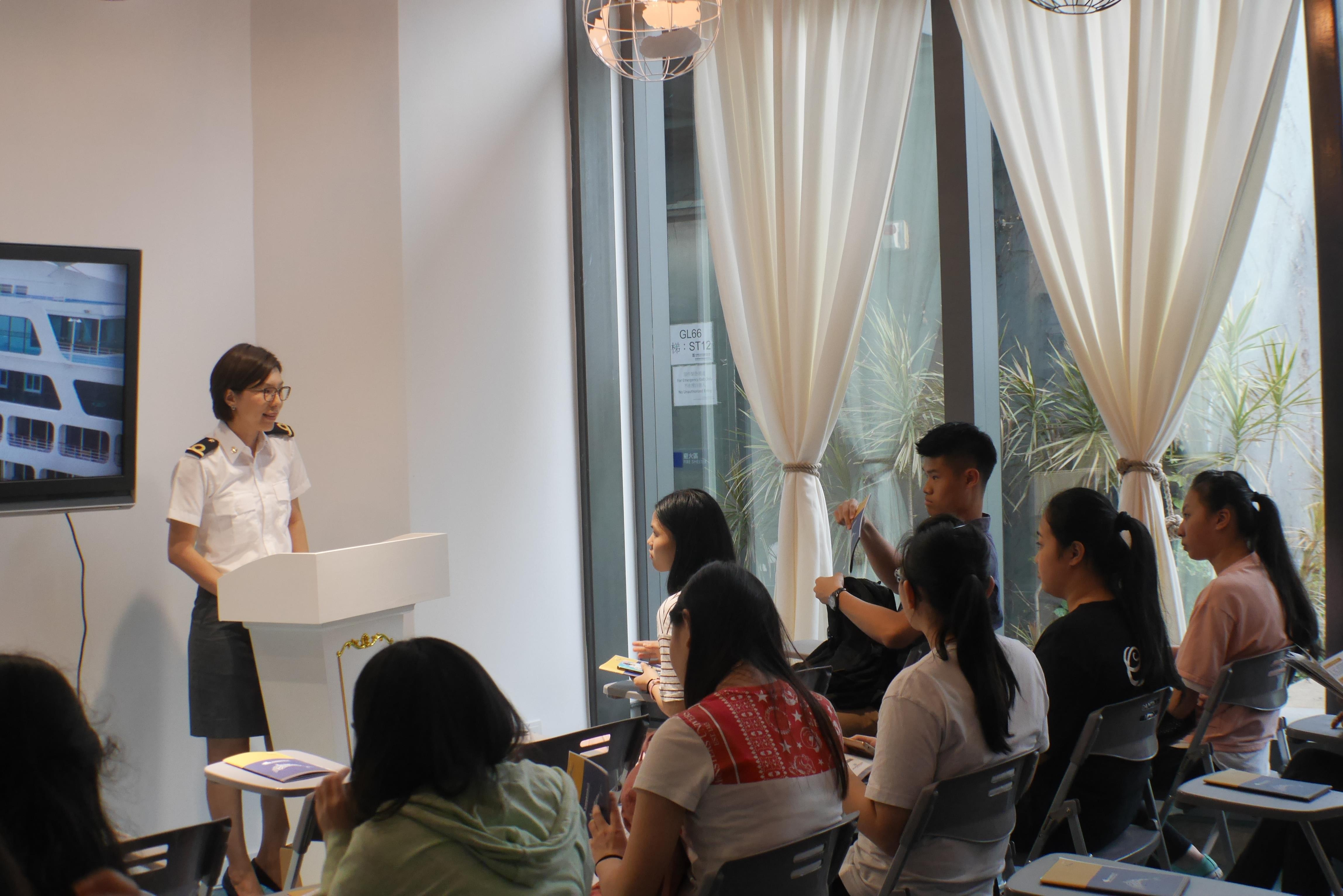 香港郵輪及遊艇業協會免費為全港166間設旅遊與款待科的中學舉辦郵輪講座.jpg